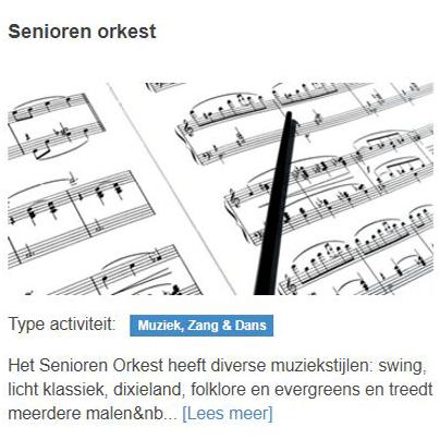 Senioren orkest